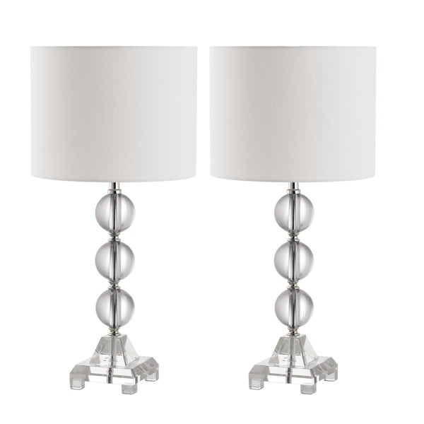 Sada 2 stolových lámp Safavieh Callie