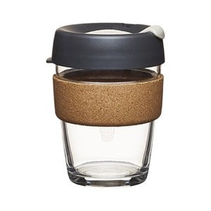 Cestovný hrnček s viečkom KeepCup Brew Cork Edition Press, 340 ml