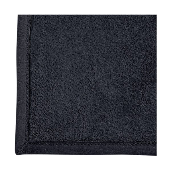 Deka Porto, 150x200 cm, čierna