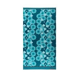 Osuška Blue Floral, 75x150 cm