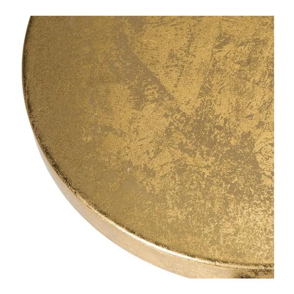 Stolička Counterstool, čierno-zlatá
