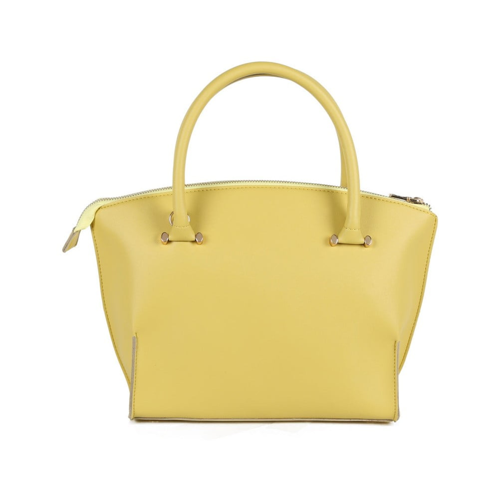 Žltá kabelka z eko kože Beverly Hills Polo Club Zoe ... dddf0c31463