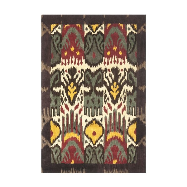 Vlnený koberec Catarina Ikat, 121x182 cm