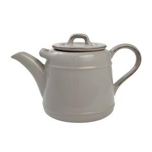 Sivá keramická kanvica na čaj T&GWoodware PrideofPlace