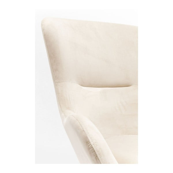 Biele hojdacie kreslo Kare Design Oslo