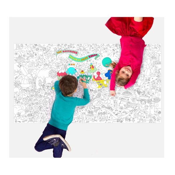 Maľovanka Jeff Koons XXL (180 x 100 cm)