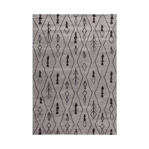 Sivý koberec Tassala,120x170cm