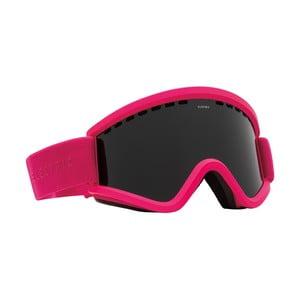 Pánské lyžařské brýle Electric EGV Solid Berry Jet Black, veľ. M