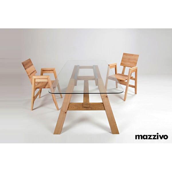 Jedálenský stôl Mazzivo Glass To, 200 x 100 cm