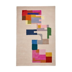 Vlnený koberec Think Rugs Inaluxe Hey Ho Lets Go, 150 x 230 cm