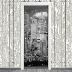 Samolepka na dvere LineArtistica New York Dos, 80×215 cm