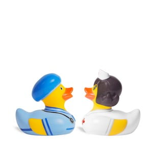 Kačička do vane Bud Ducks Doctor & Nurse Mini Deluce