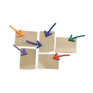 Sada 6 magnetov v tvare šípok Qualy&CO Arrow