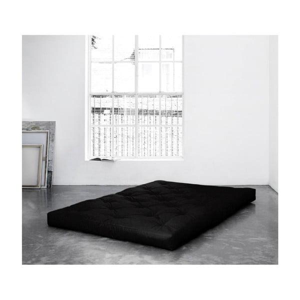 Matrac v čiernej farbe Karup Design Comfort Black, 160×200 cm