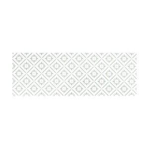 Biely behúň White Label Vintage, 195×120 cm