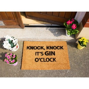 Rohožka Artsy Doormats Gin O'Clock, 40x60cm