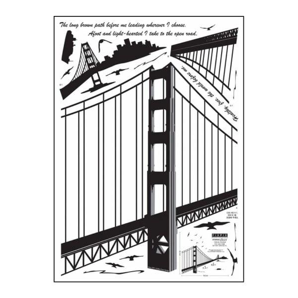Samolepka Ambience San Francisco