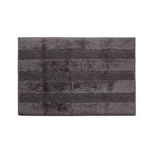 Tmavosivá kúpeľňová predložka Jalouse Maison Tapis De Bain Ardoise, 60×90 cm
