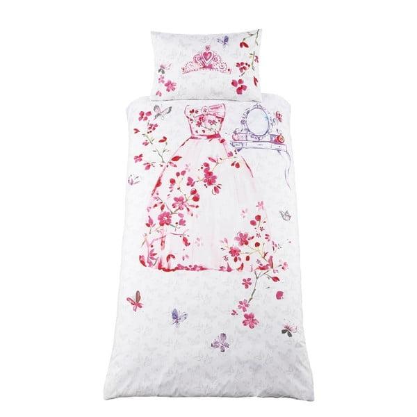 Detské obliečky na jednolôžko Catherine Lansfield Glamour Princess, 135×200 cm