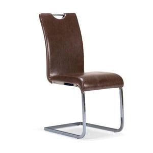 Hnedá jedálenská stolička SOB Mensah
