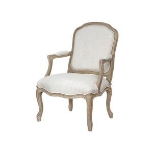 Béžová jedálenská stolička s konštrukciou z brezového dreva Livin Hill Venezia