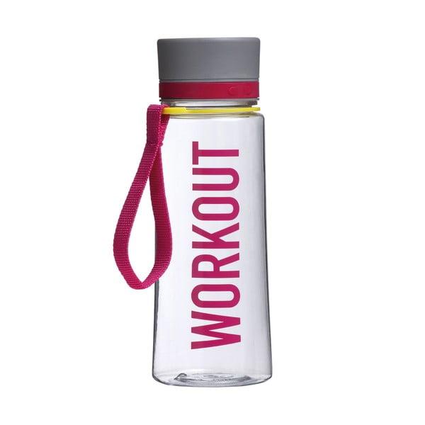 Sada 4 cestovných fliaš Premier Housewares Mimo Water Bottle 650ml, 4ks