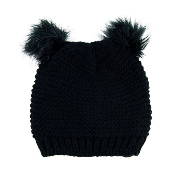 Čiapka Ears Black