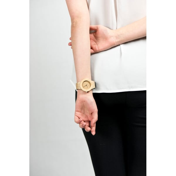 Drevené hodinky Analog Watch Co. Silverheart & Maple