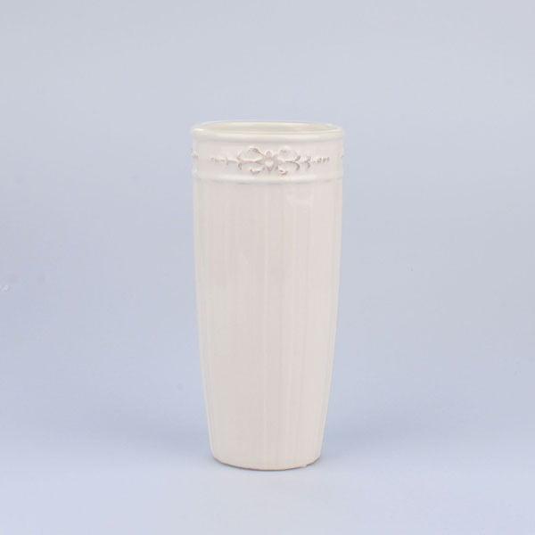 Váza Antic White, 11x24 cm