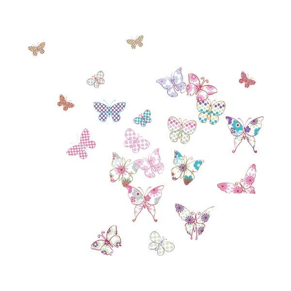 Dekoratívna samolepka Motýle
