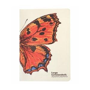Zápisník Gift Republic Butterflies, veľ.A5