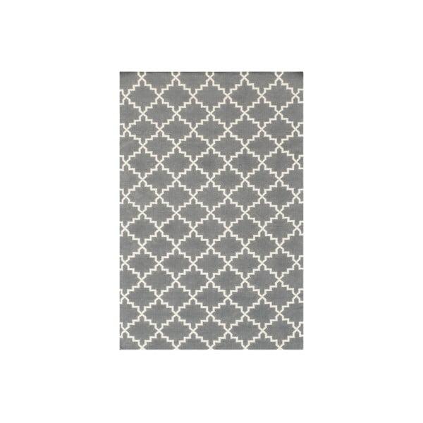 Vlnený koberec Eugenie Grey, 200x140 cm