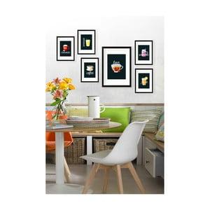 Sada 6 nástenných obrazov Tablo Center Tea
