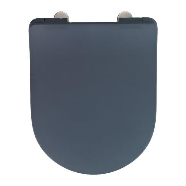 Sivé WC sedadlo Wenko Sedilo Grey, 45,2 × 36,2 cm
