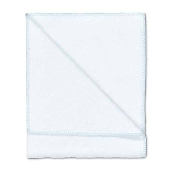 Sada 2 osušiek Whyte 100x150 cm, biela/modrá