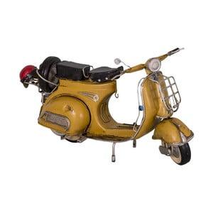 Dekoratívny predmet Yellow Scooter