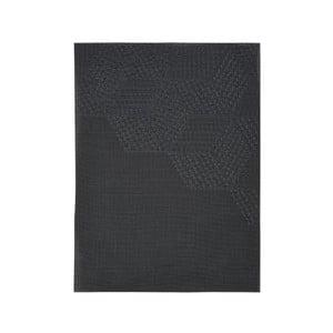 Čierne prestieranie Zone Hexagon, 30 × 40 cm
