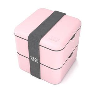 Ružový obedový box Monbento Square