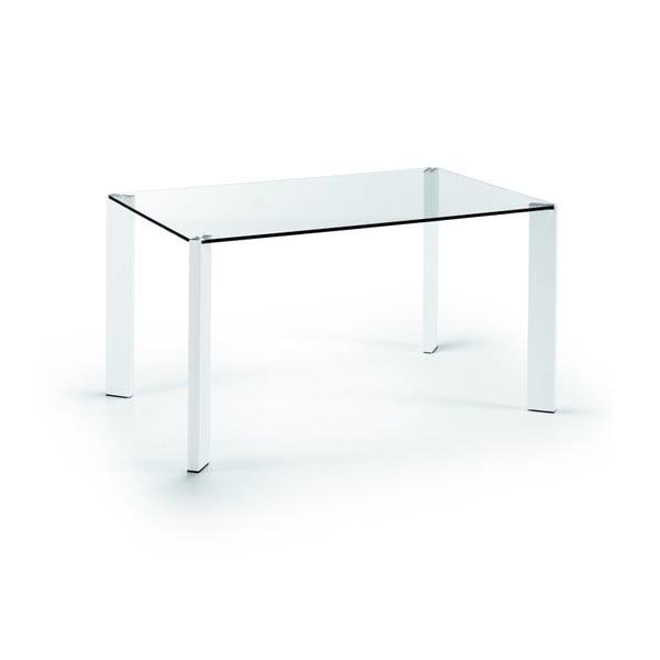 Jedálenský stôl Corner, 140x90cm, bielenohy