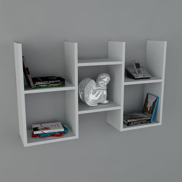 Polica Gues Book White, 22x97x59,5 cm