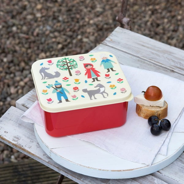 Box na desiatu s motívom Červenej Čiapočky Rex London Red Riding Hood