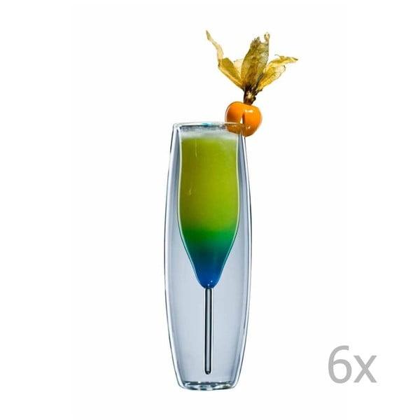 Sada 6 pohárov bloomix Prosocco