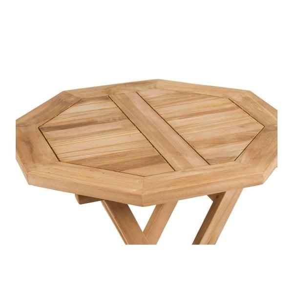 Zahradný stôl a 2 stoličky Melilla Natural