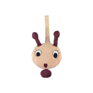 Zvuková hračka detskú postieľku z bavlny OYOY Lala