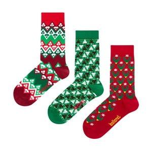Darčeková sada ponožiek Ballonet Socks Christmas Time, veľkosť 36-40