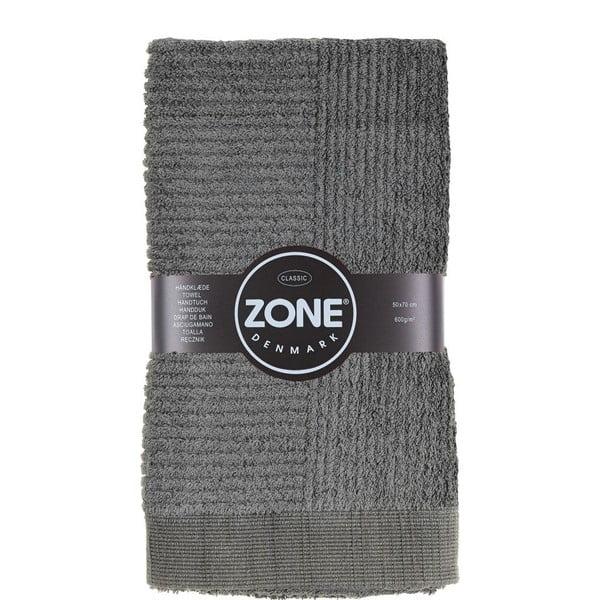 Sivý uterák Zone, 70 x 50cm