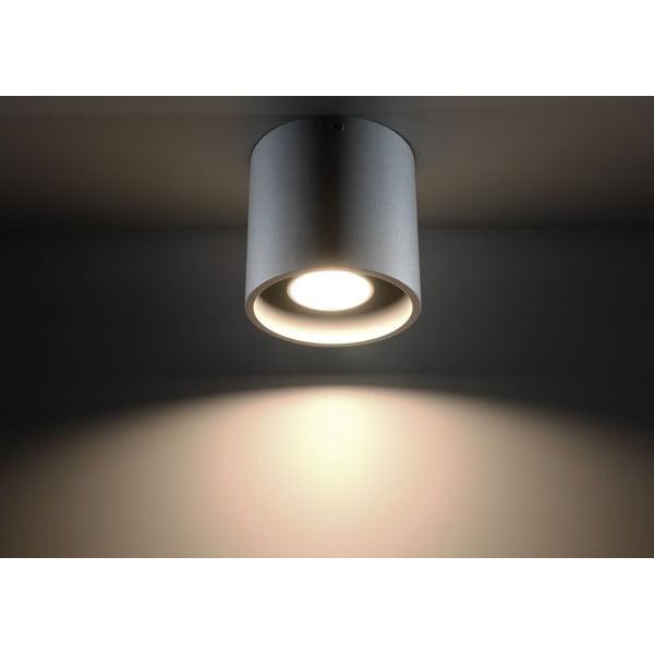 Sivé stropné svetlo Nice Lamps Roda 1