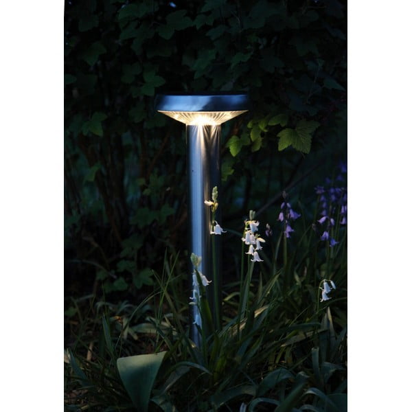 Záhradné svetlo Solar Energy Path Light Umbrella Steel