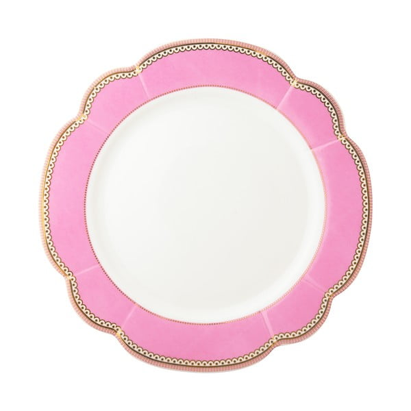 Porcelánový tanier Rosie od Lisbeth Dahl, 24 cm, 4 ks
