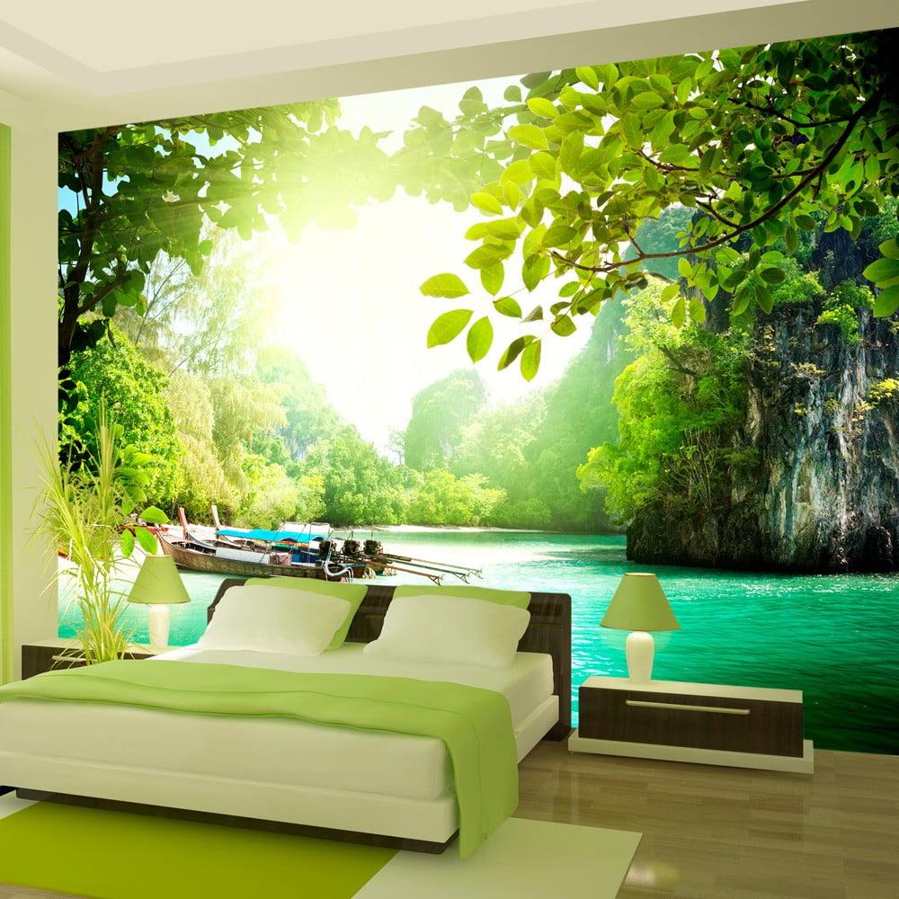 Veľkoformátová tapeta Bimago -Heavenly Landing, 400 × 280 cm